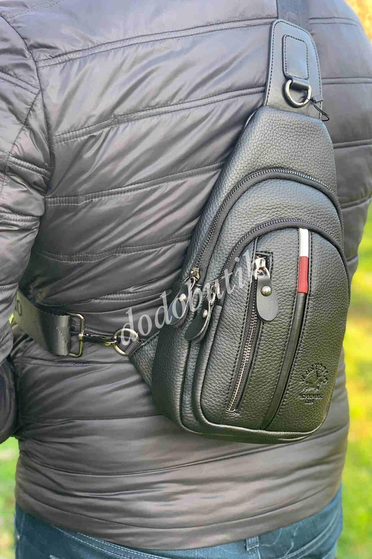 Siyah Erkek Bodybag WP7006