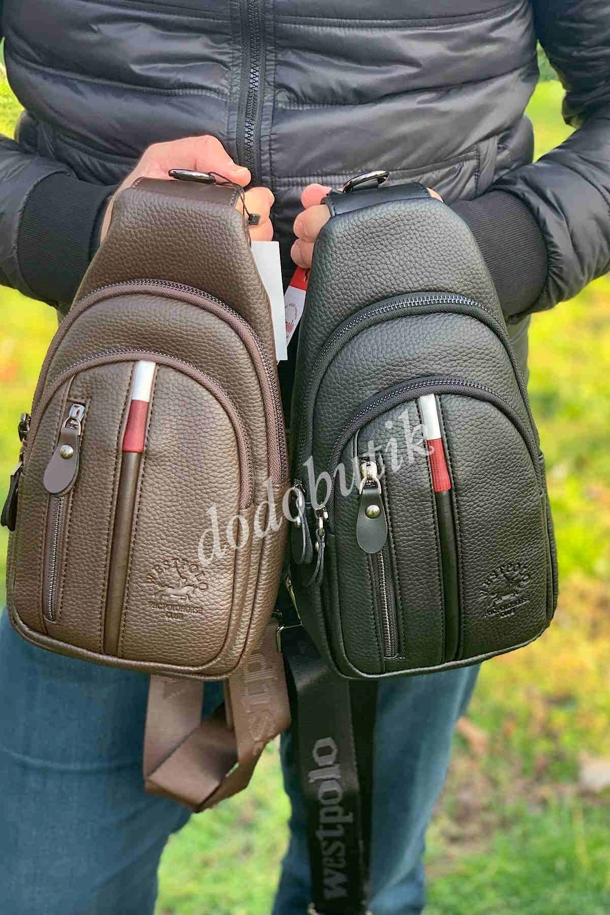 Kahverengi Erkek Bodybag WP7006