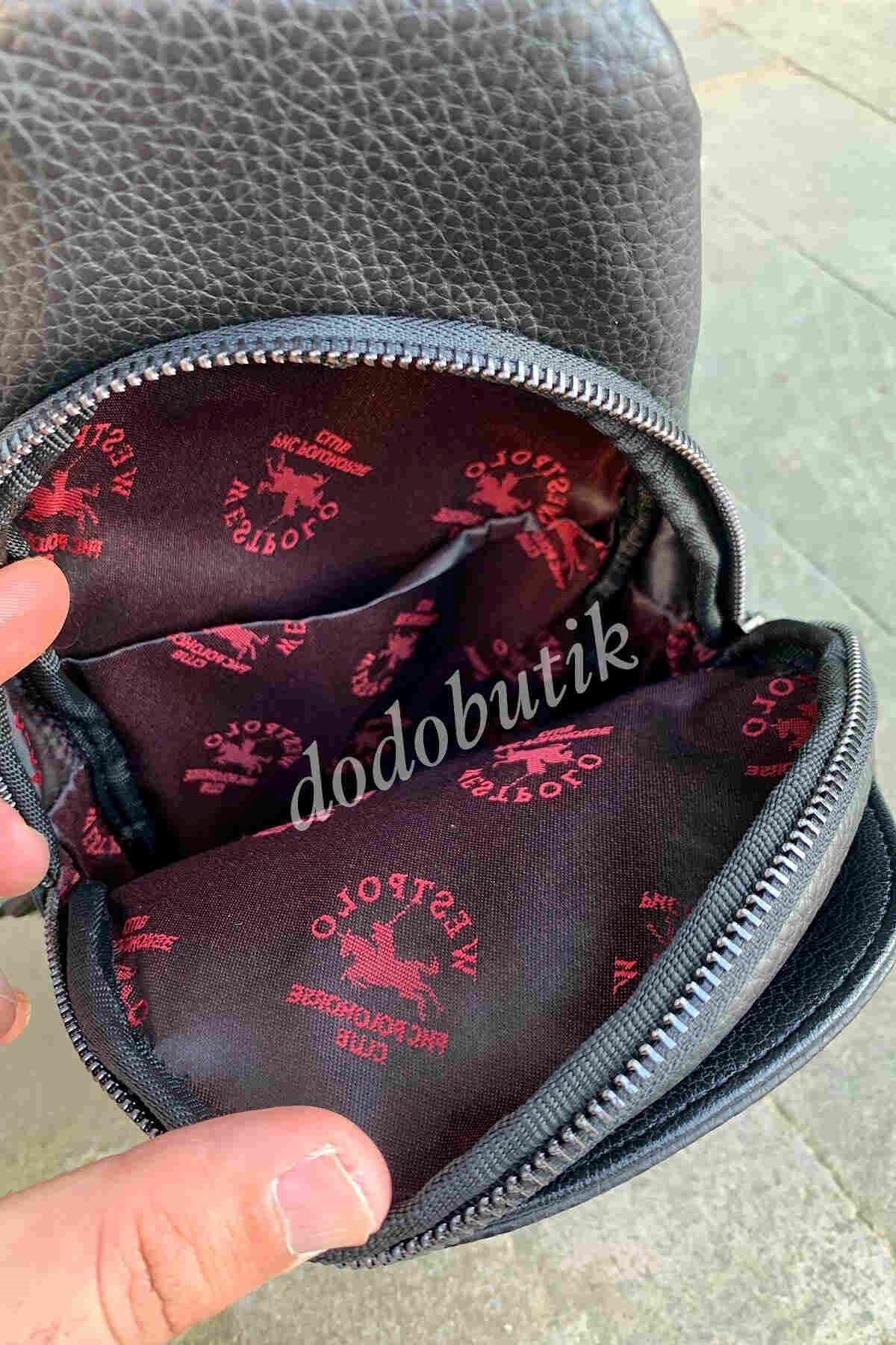Siyah Erkek Bodybag WP7009