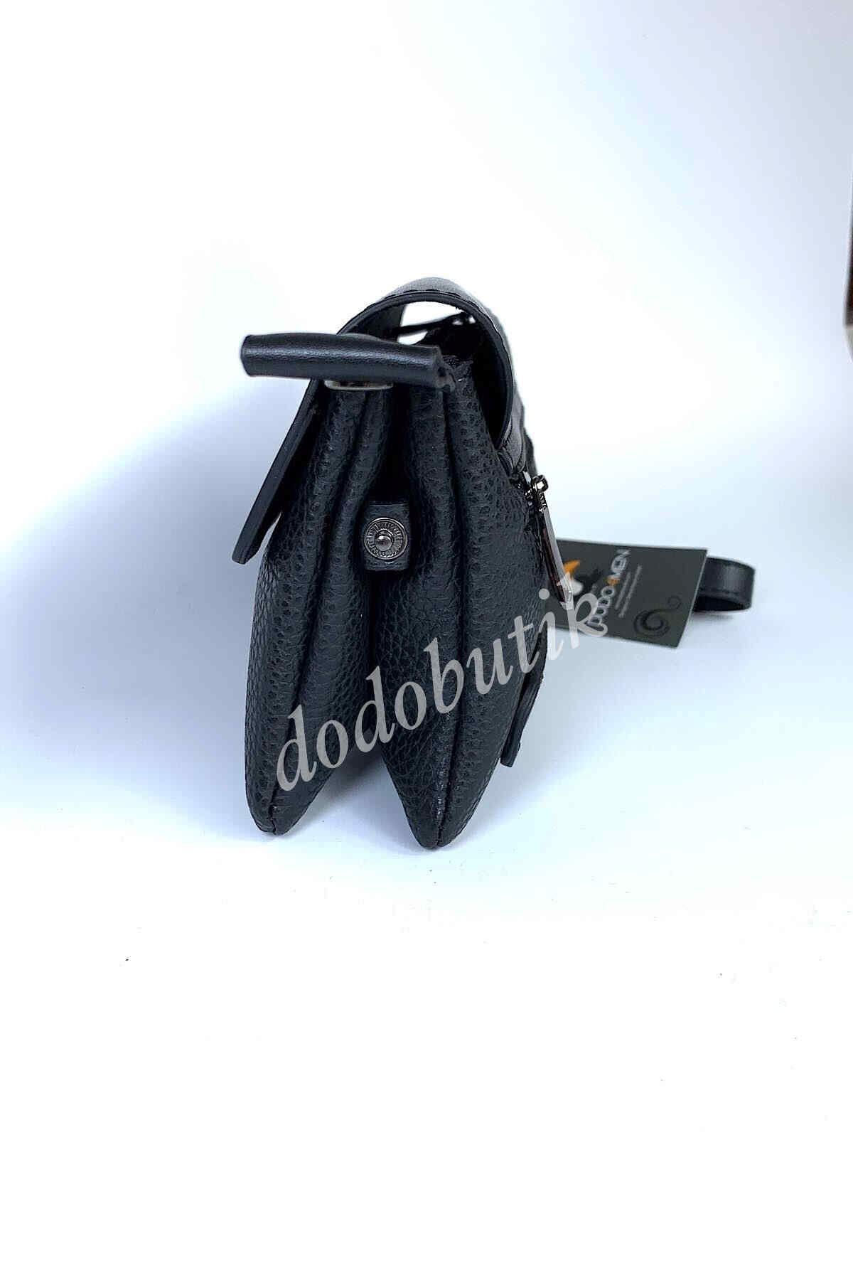 Siyah Deri El Çantası DDA60